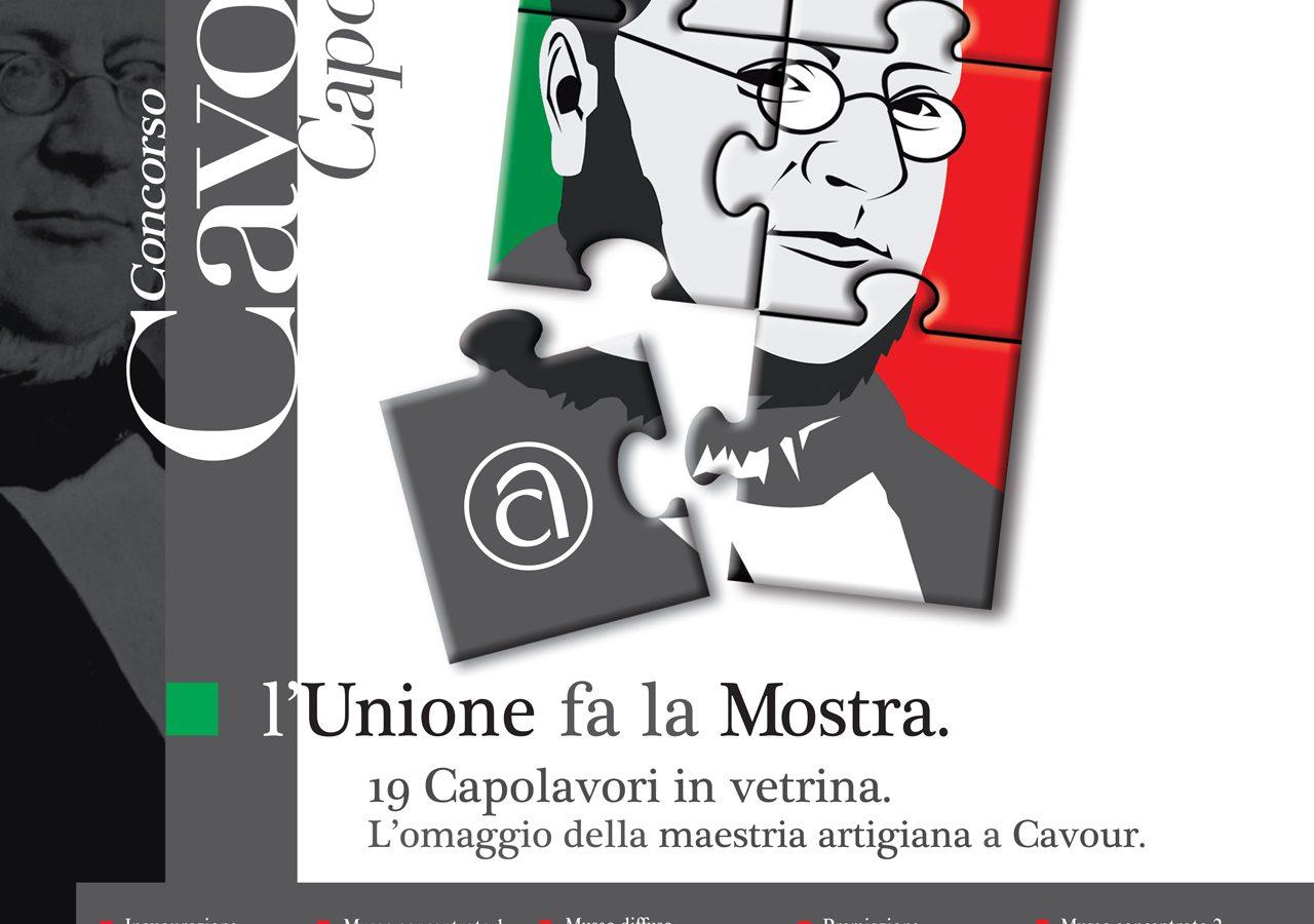 Locandina mostra Cavour 150 anni Unità